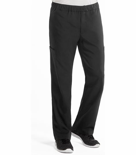 Med Couture Activate Men's Sport 5-Pocket Cargo Scrub Pant With Tapered Leg-8734