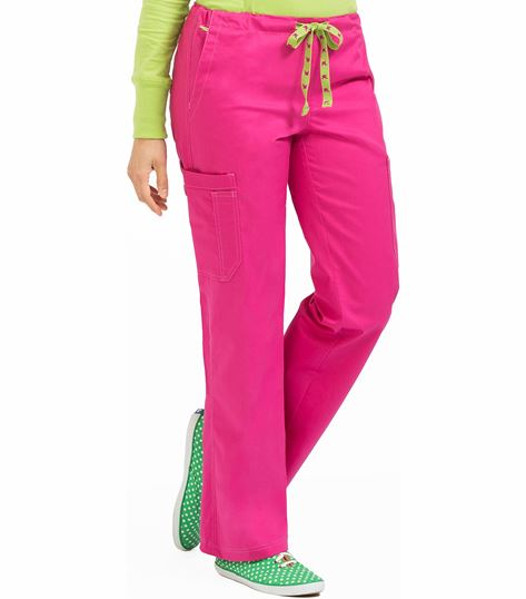 Med Couture Layla MC2 Women's Drawstring Scrub Pant-8741