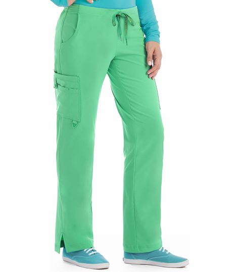 Med Couture Activate Hi-Definition Women's Cargo Scrub Pants-8743
