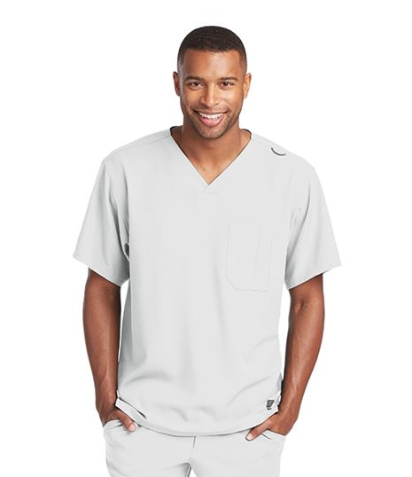 Skechers Men's Structure V-Neck Scrub Top-SK0112
