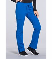 Cherokee iFlex Women's Tapered Leg Drawstring Scrub Pants-CK010