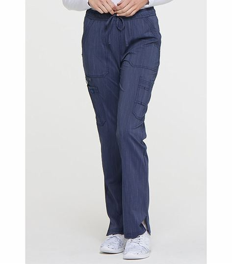 Dickies Advance Two Tone Twist Women's Flare Leg Drawstring Scrub Pants-DK170