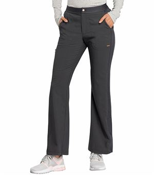 Cherokee Statement Flare Leg Zip Fly Scrub Pants- CK060