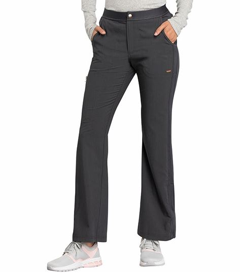 Cherokee Statement Flare Leg Zip Fly Scrub Pants- CK060