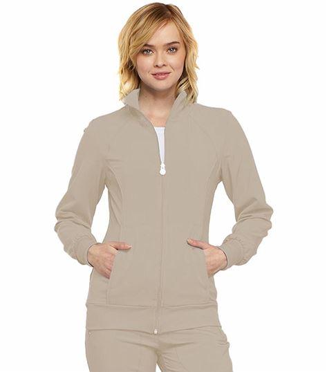 Cherokee Infinity Women's Zip Up Warm-Up Scrub Jacket-2391A