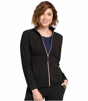 Cherokee Statement Zip Up Medical Scrub Jacket-CK365