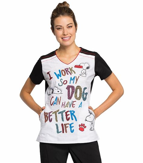 Disney V-neck Top TF608
