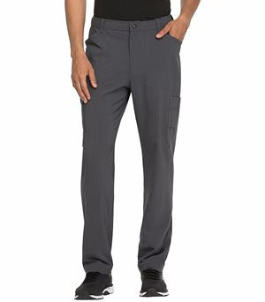 Dickies Advance Solid Tonal Twist Men's Straight Leg Cargo Scrub Pants-DK205