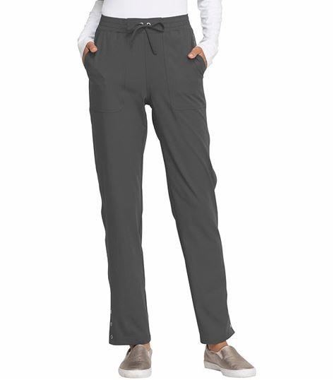 Elle Simply Polished Tapered Leg Drawstring Scrub Pants-EL180