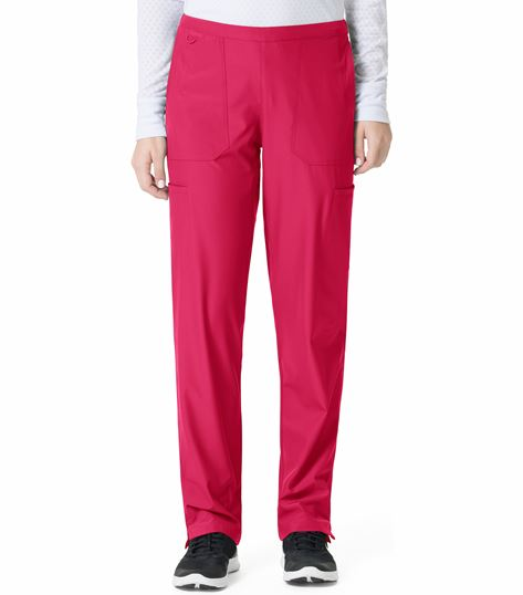 Carhartt Liberty Women's Flat Front Straight Leg Scrub Pants-C52106