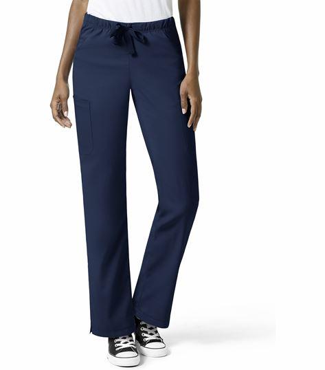 WonderWink WonderTech Women's Elastic Pant Drawstring Scrub Pants-5313