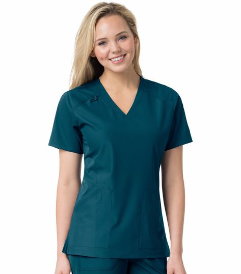 Carhartt Liberty Women's Multi-Pocket V-Neck Scrub Top-C12106