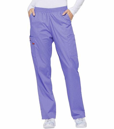 0aae6758a8d Dickies EDS Signature Women's Elastic Waist Cargo Scrub Pants-86106    Medical Scrubs Collection