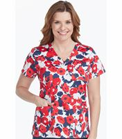 Med Couture Prints Women's Print Mia Print Top-8524