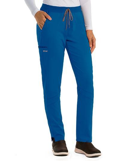 Grey's Anatomy Spandex Stretch Women's  Knit Waist Scrub Pants-GVSP509