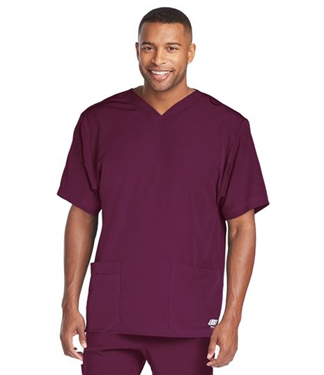 Skechers Men's 4 Pocket Sport V-Neck Scrub Top-SKT013