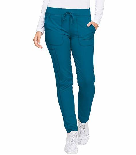 Dickies Dynamix Women's Drawstring Skinny Scrub Pants-DK190