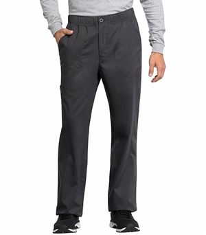 Cherokee Workwear Revolution Tech Men's Zip Fly Cargo Scrub Pants-WW250AB
