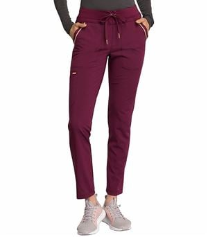 Cherokee Statement Slim Tapered Leg Drawstring Scrub Pants -CK055