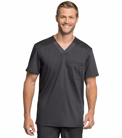 Cherokee Workwear Revolution Tech Men's V-Neck Scrub Top-WW755AB
