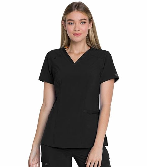 Dickies EDS Women's  V-Neck Scrub Top-DK735