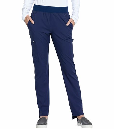 38175a3918 Elle Tapered Leg Cargo Pull-on Scrub Pants with Hem Step-EL165 | Medical  Scrubs Collection