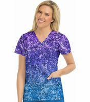 Med Couture Prints Women's Print In-Motion Classic Print Top-8597