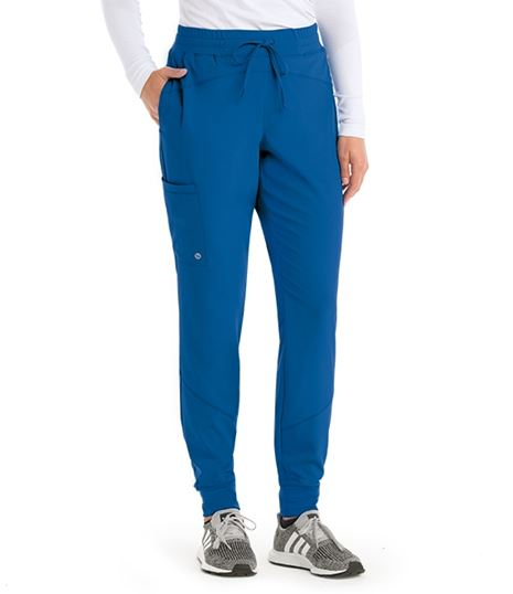 Barco One Women's 3 Pocket Jogger Scrub Pants-BOP513