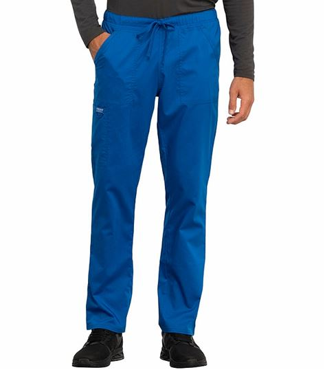 Cherokee Workwear Revolution Unisex Tapered Leg Drawstring Scrub Pants-WW020