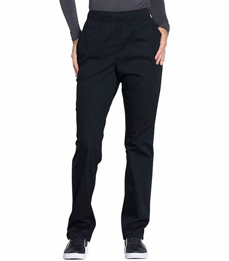 Cherokee Workwear Professionals Women's  Pull On Tapered Leg Scrub Pants-WW050