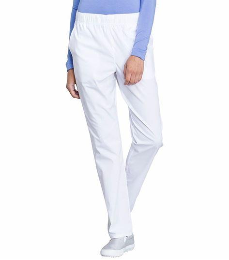 Cherokee Workwear Professionals Women's  Pull On Tapered Leg Scrub Pants-WW050