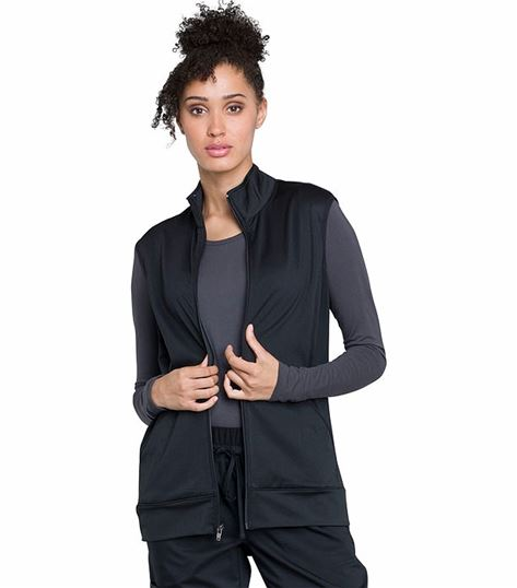 Cherokee Workwear Revolution Unisex Zip Front Scrub Vest-WW520