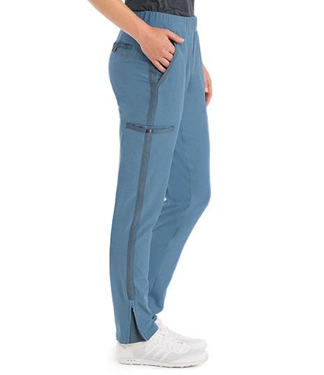 Barco One Wellness Women's 5-Pocket Drawstring Cargo Scrub Pants-BWP505