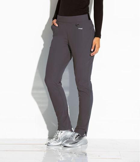 Grey's Anatomy Edge Women's Axis 3 Pocket  Logo Waist Scrub Pants-GEP005