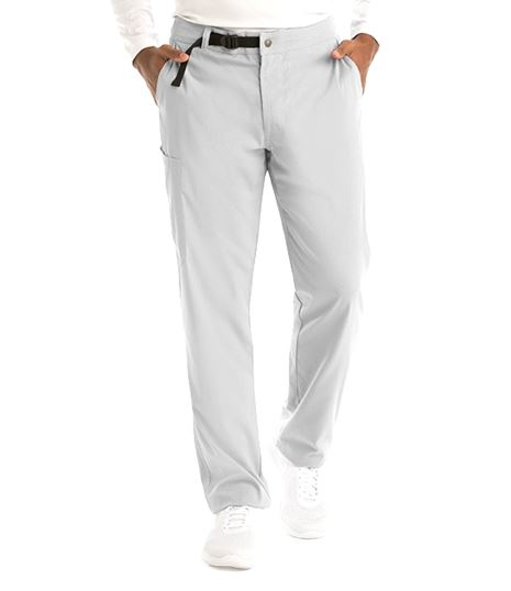 Grey's Anatomy Spandex Stretch Men's Belted Cargo Scrub Pants-GRSP507