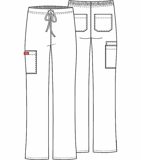 Dickies Unisex Drawstring Cargo Pant 83060