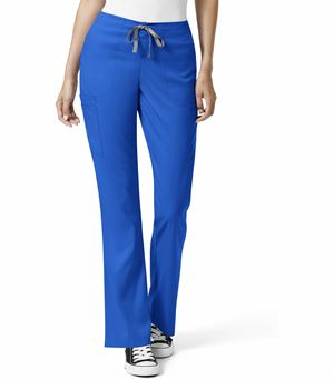 WonderWink Pro Women's Flare Leg Cargo Scrub Pants-5319