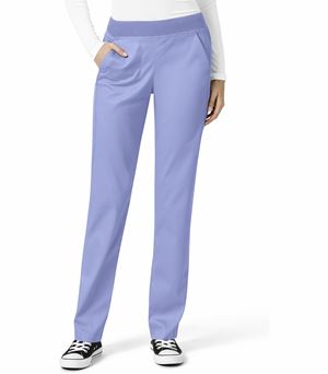 WonderWink Pro Women's Elastic Waist 4 Pocket Cargo Scrub Pants-5419