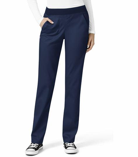 WonderWink Pro Women's Elastic Waist 4 Pocket Cargo Scrub Pants-5419