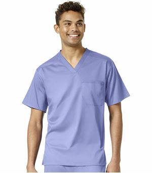 WonderWink Pro Men's V-Neck Scrub Top-6619