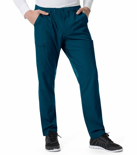 Carhartt Liberty Men's Slim Fit Multi-Pkt Cargo Scrub Pants-C55106