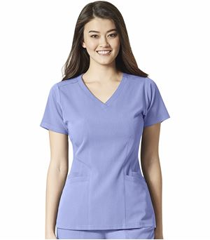 WonderWink Aero Women's Flex Back V-Neck Scrub Top-6129