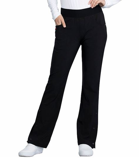 Katie Duke by Cherokee Iflex Women's Flare Leg Pull-On Scrub Pants-CKK075