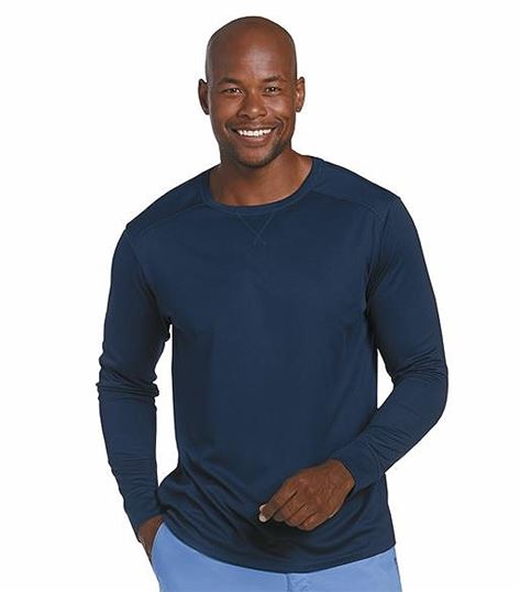 Landau Mens Basic Long Sleeve Tee 69001