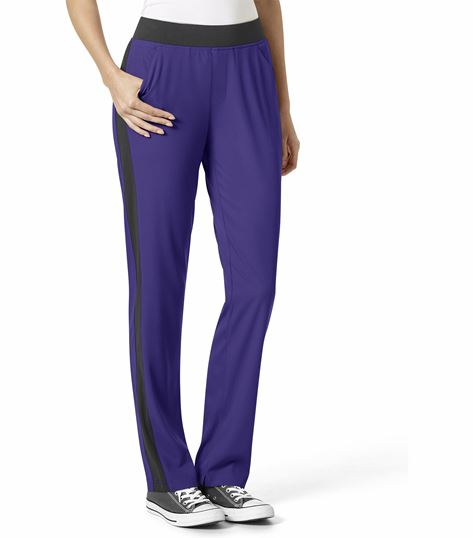 WonderWink Aero Women's Flex Racer Pull On Scrub Pants-5229