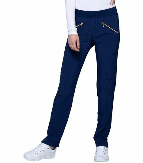 HeartSoul Women's Pull-On Skinny Leg Scrub Pants-HS065