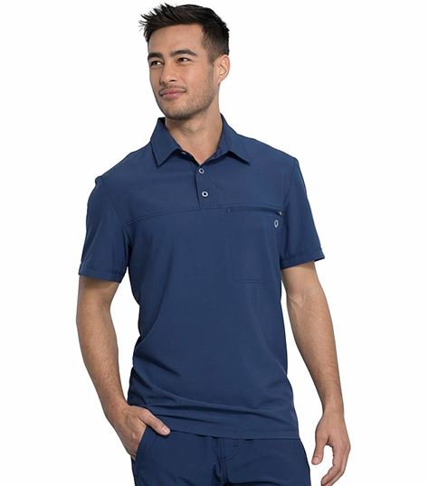 Cherokee Infinity Men's Polo Scrub Top-CK825A