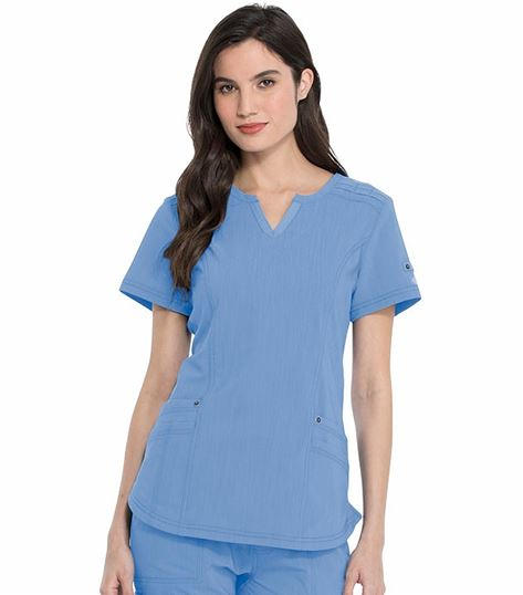 Dickies Advance Women's Shaped V-Neck Scrub Top-DK785