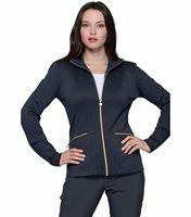 HeartSoul Zip Front Nurse Scrub Jacket-HS325