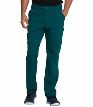 Dickies Balance Men's Elastic Waist Cargo Scrub Pants-DK220